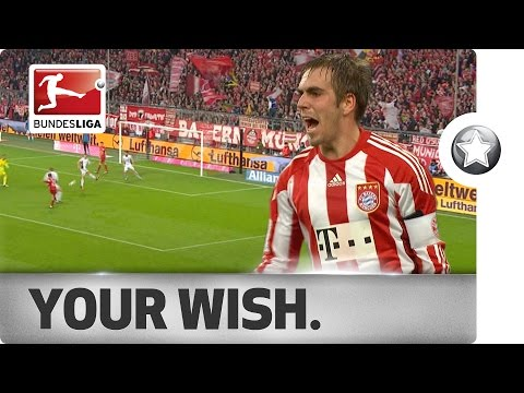 Philipp Lahm - His Bundesliga Goals So Far...
