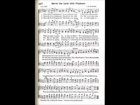 Hymnal - Serve The Lord With Gladness