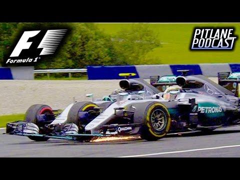F1 2016 Austrian GP Race Discussion: MERCEDES CIVIL WAR PART 3 - Pitlane Podcast #19