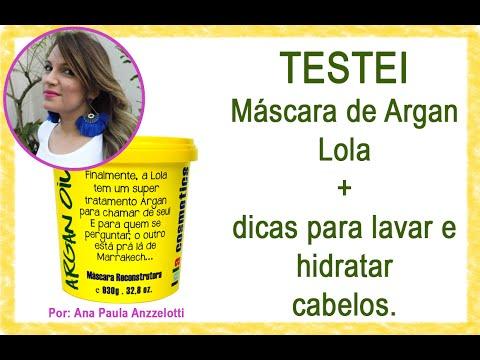 Testei e aprovei - Máscara de argan Lola + dicas para hidratar cabelos.