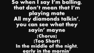 Too $hort Video - Wiz Khalifa Ft Too $hort - On My Level (Lyrics)