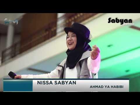 Nissa Sabyan   Ahmad Ya Habibi Live Pamekasan