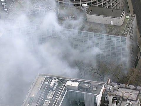 Raw: London Fire Triggers Major Evacuation