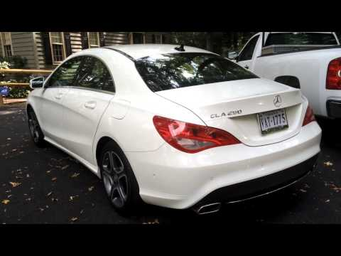Picked up my new RIDE! \\ Mercedes Benz CLA 250