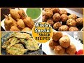 Quick & Easy Winter Snacks Recipes - Bhajiya & Pakoda/Pakora Recipes - Crispy Fritter Recipes