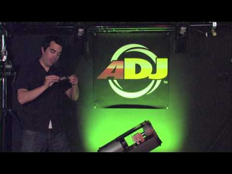 American DJ Under the Hood Comscan LED System