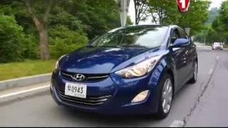 Hyundai Elantra мировой тест-драйв в Корее