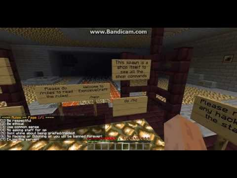 Minecraft Cracked Server - 1.5 ExplosiveCraft - MCMMO - Mob Arena - Factions