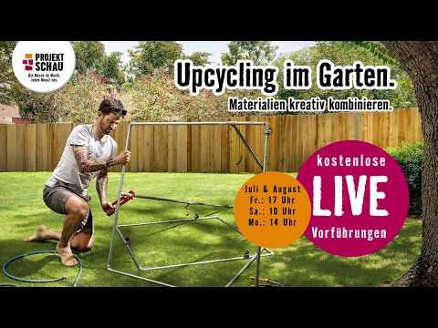HORNBACH ProjektSchau Juli/August 2018 - Upcycling im Garten