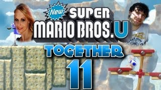 Let's Play Together New Super Mario Bros U Part 11