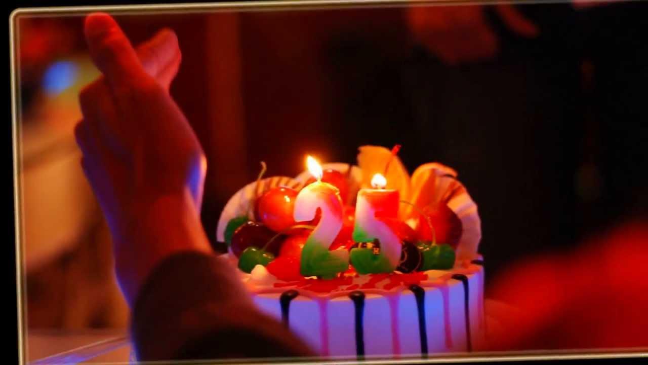 Поздравления 25 летием днем рождения