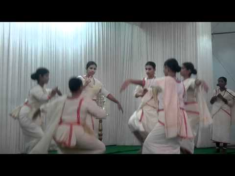 Folk Dance Of Kerala - Margam Kali - Kcym video