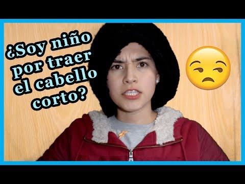 DICEN QUE SOY NIÑO POR TRAER EL CABELLO CORTO / INGRID GONZÁLEZ