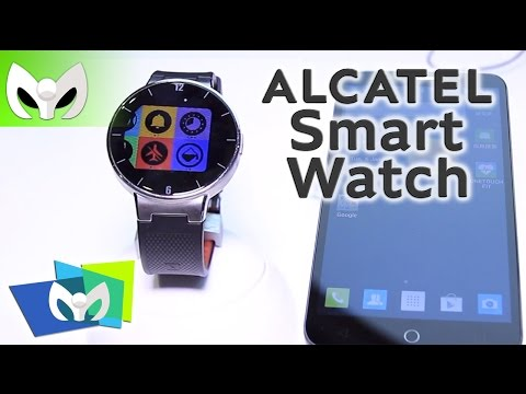 Alcatel Smart Watch #CES2015 - (Funciona Android & iOS)
