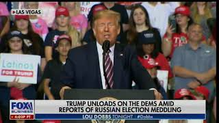 TRUMP Mocks Fake News Media on Latest Hoax That Russia Is Helping Trump Win in 2020