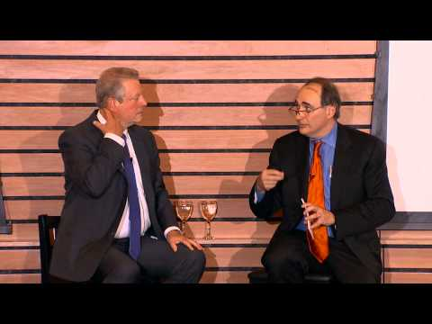 Former Vice President Al Gore discusses the politics of Climate Change