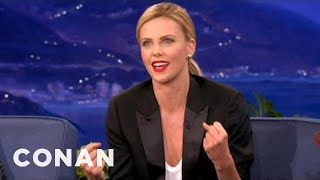 Charlize Theron Is Obsessed With UFC - CONAN on TBS