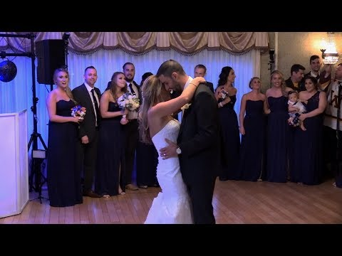 Lindsey & Colin's Wedding Reception - First Dance