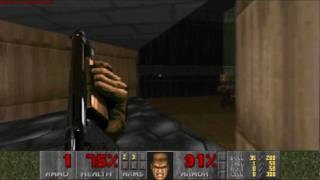 doom 1 first level ultra violence (HD)