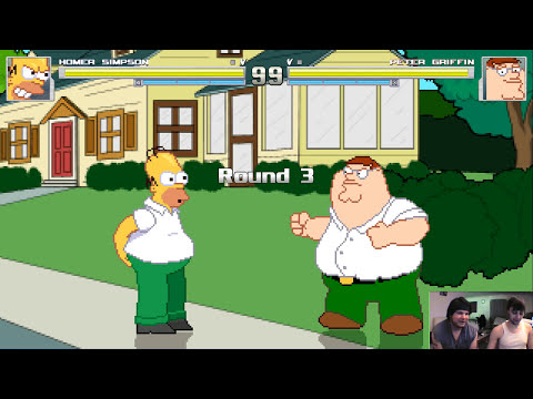 Peter Griffin vs. Homer Simpson