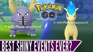 SHINY CATCH-UP VIDEO! Three Off-Camera Shiny Catches... Best Shiny Events Ever in Pokemon GO?