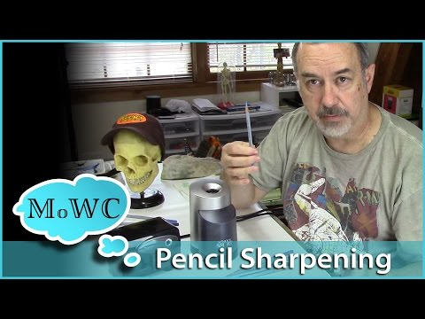 Electric Pencil Sharpening for Art Pencils – School Smart Sharpener Review