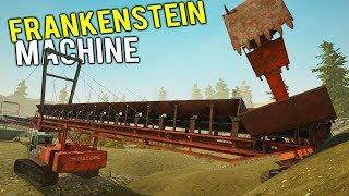 THE NEW FRANKENSTEIN MACHINE! Largest Gold Mining Machine Yet! - Gold Rush Full Release Gameplay