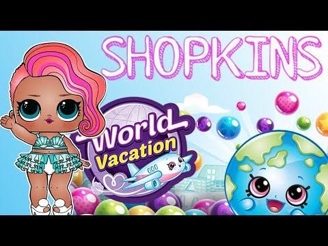 LOL Surprise & Shopkins • Gdzie Wyjechać Na Wakacje? • Bajka Po Polsku