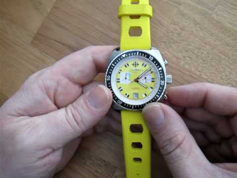 How to Use a Chronograph Watch Part 1: With 2 Chrono Hands