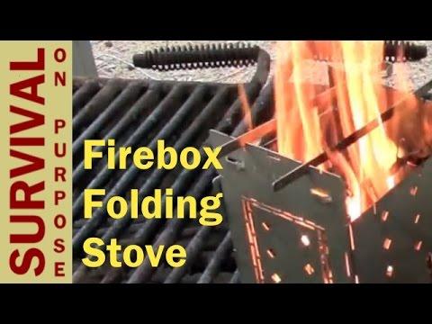 Firebox Folding Stove Review - Best Survival Gear