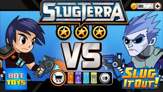 BajoTerra Cap 3 | SLUGTERRA: SLUG IT OUT | juego de babosas para iPhone | Bot Toys