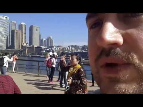 Sydney Opera House and Harbour Bridge in Australia