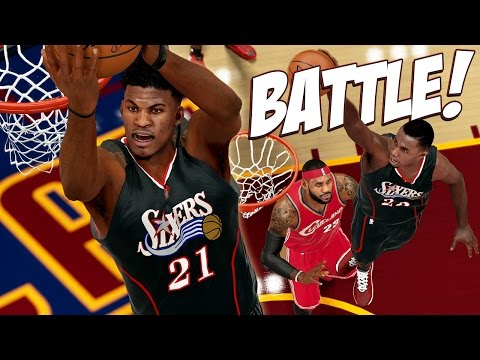 NBA 2K15 76ers MyGM #19 - The Battle Of KINGS! LeBron James vs. Jimmy Butler!