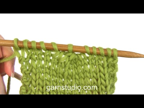 How to knit 5 stitches together (decrease)