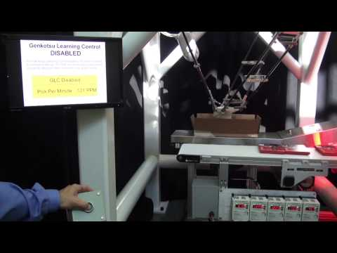Speed Enhancing Software for Pick & Place Robots – FANUC Genkotsu Learning Control (GLC)