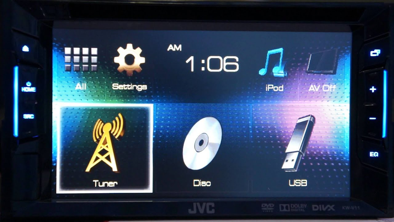 JVC запускает новую линейку автомобильной электроники