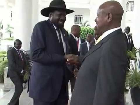 President Museveni meets conflicting South Sudanese factions, urges them on peace and unity