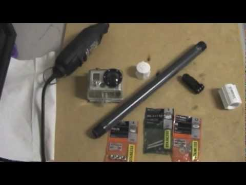 DIY:  How To Make A GoPro Pole/Pole Mount Cheap