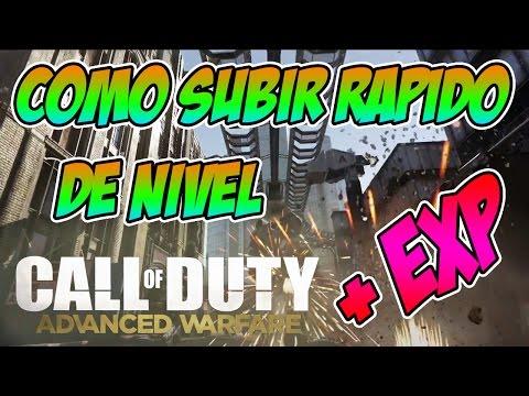 Cómo subir rápido de nivel | Call of Duty Advanced Warfare | Elyas