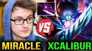 Miracle Slark vs Xcalibur Phantom Assassin - Get Bullied Dota 2