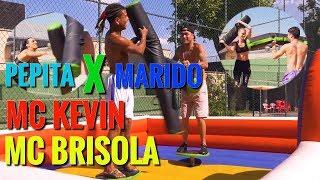 GINCANA: MC BRISOLA, MC KEVIN, PEPITA E SEU MARIDO, DANIEL