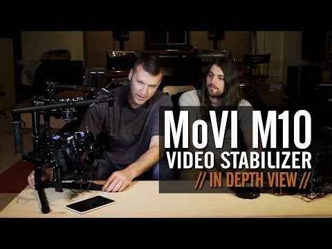MoVi M10 video stabilizer: In depth view