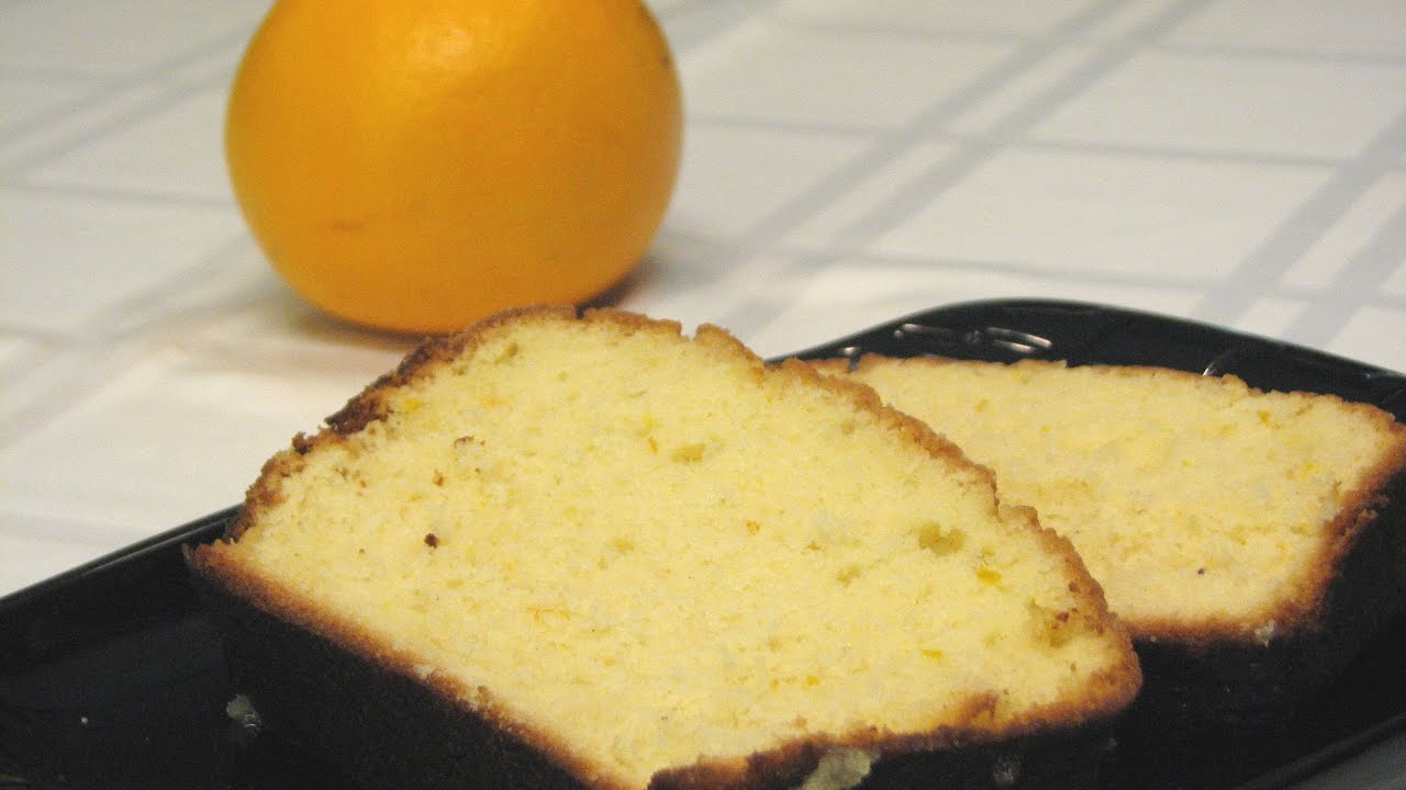 Orange Yogurt Bread -- Lynn's Recipes - YouTube