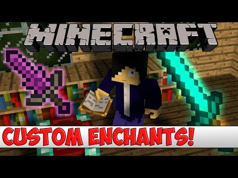 Minecraft Plugin Tutorial - Custom Enchantments