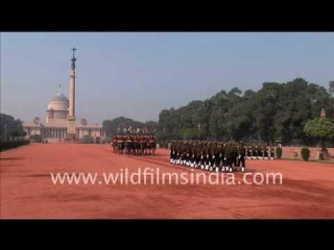 Change of Guard at Rashtrapati Bhavan