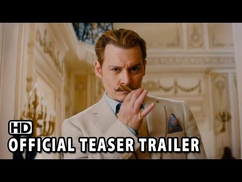 MORTDECAI Official Teaser Trailer #1 (2015) - Johnny Depp Movie HD