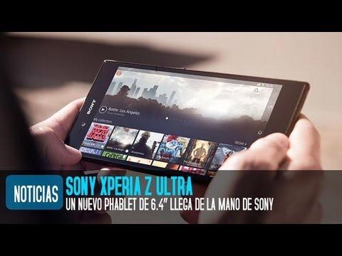 Sony Xperia Z Ultra. precio y características