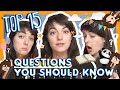 Learn the Top 15 French Questions You Should Know