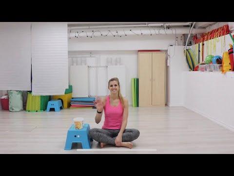 Izgő-mozgó torna gyerekeknek 4. Edzés