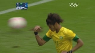 Brazil 3-2 Honduras - Men's Football Quarter-Finals | London 2012 Olympics